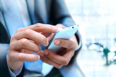 Przeglądanie informacji w telefonie