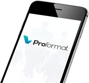 Telefon z mobilną stroną www