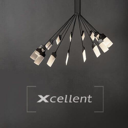 Ikona z eleganckimi lampami